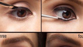 Φτιάξτε τα τέλεια γατίσια μάτια με διπλή γραμμή