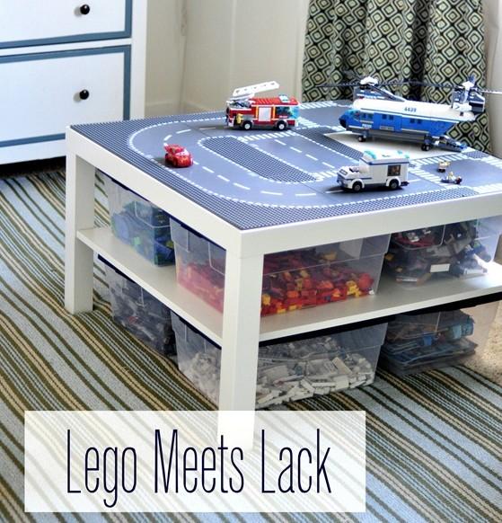 Φτιάξτε ένα υπέροχο τραπεζάκι lego