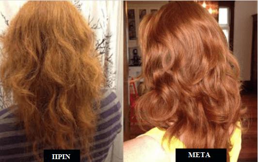 100% φυσική μαλακτική κρέμα για δυνατά μαλλιά