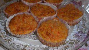 Σχολικό σνακ : Αλμυρα Muffins με κολοκυθα και τυρι