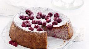 Kέικ χωρίς γλουτένη με 4 υλικά