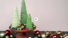 Φτιάξτε ένα υπέροχο χριστουγεννιάτικο διακοσμητικό με χάρτινες θήκες για cupcakes