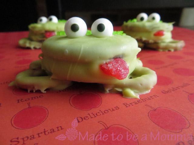Φτιάξτε τα δικά σας βατραχάκια με μπισκότα oreo