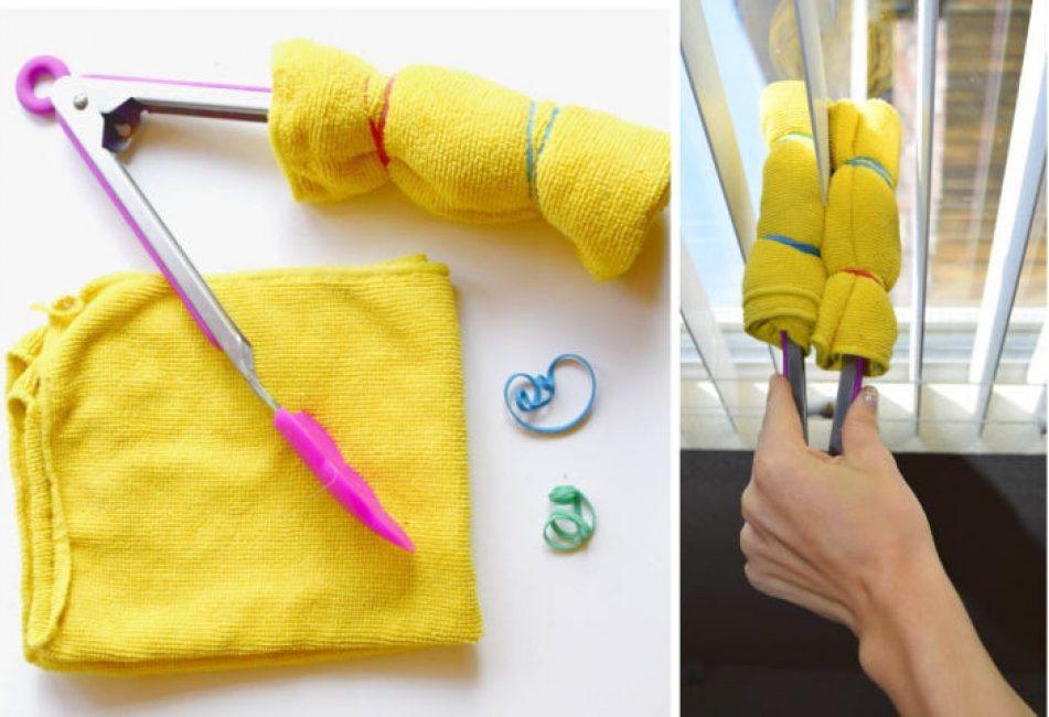 13 πανέξυπνες ιδέες για να καθαρίσετε και τα πιο δυσπρόσιτα σημεία!