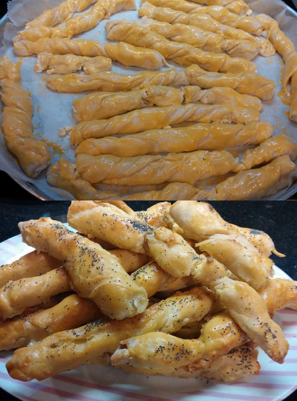 Βεργούλες τυρένιες για σχολικό σνακ