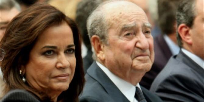 O Κωνσταντίνος Μητσοτάκης γίνεται 98 ετών! Το τρυφερό μήνυμα της Ντόρας
