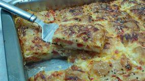 Πίτσα με φύλλο κρούστας
