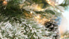 Ο πιο απλός τρόπος για να φτιάξετε μόνες σας ένα χιονισμένο  δέντρο