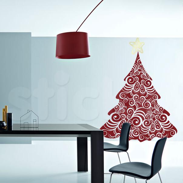 Με τα αυτοκόλλητα τοίχου δημιουργήστε κάτι φανταστικό φέτος τα Χριστούγεννα!