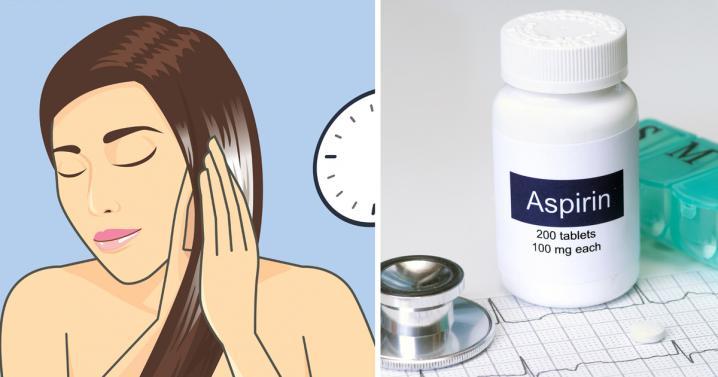 Κανέι την ασπιρίνη σκόνη και τη βάζει στα μαλλία ο λόγος; Τέλειος!