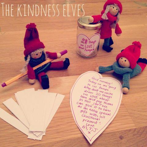 Βάλτε τα παιδιά σας στο πνεύμα των Χριστουγέννων με τα καλοσυνάτα ξωτικά
