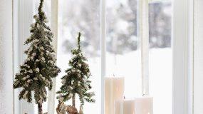 Ιδέες Χριστουγεννιάτικης διακόσμησης για μικρούς χώρους