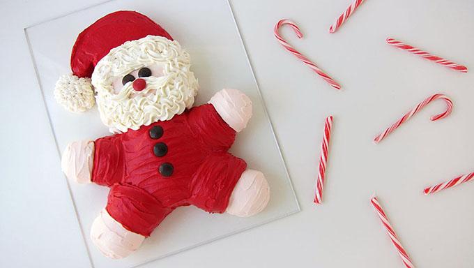 Φτιάξτε το πιο φανταστικό κέικ-Άγιο Βασίλη!