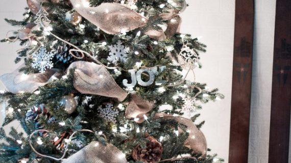 Πώς να βαλετε μια κορδελένια γιρλάντα στο χριστουγεννιάτικο δέντρο σας