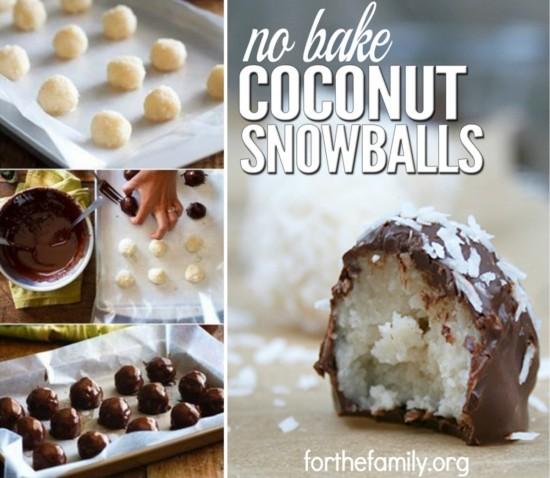 Φτιάξτε τις πιο λαχαταριστές φαγώσιμες χιονόμπαλες καρύδας