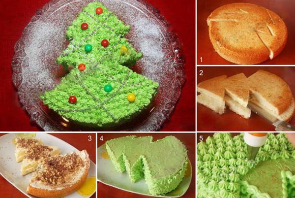 Φτιάξτε το πιο λαχταριστό κέικ-χριστουγεννιάτικο δέντρο!