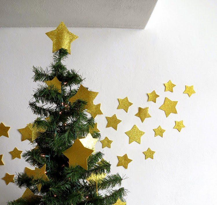 Φτιάξτε λαμπερά αστέρια για να γεμίσετε το χριστουγεννιάτικο δέντρο σας!