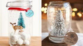 37 τρόποι με τους οποίους μπορείς να χρησιμοποιήσεις τα γυάλινα βαζάκια σου αυτά τα Χριστούγεννα