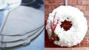 25 άχρηστα πράγματα γίνονται οι χριστουγεννιάτικοι θησαυροί διακόσμησης