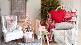Φανταστικές ιδέες για το πως να στολίσετε τις καρέκλες του σπιτιού σας φέτος τα Χριστούγεννα!