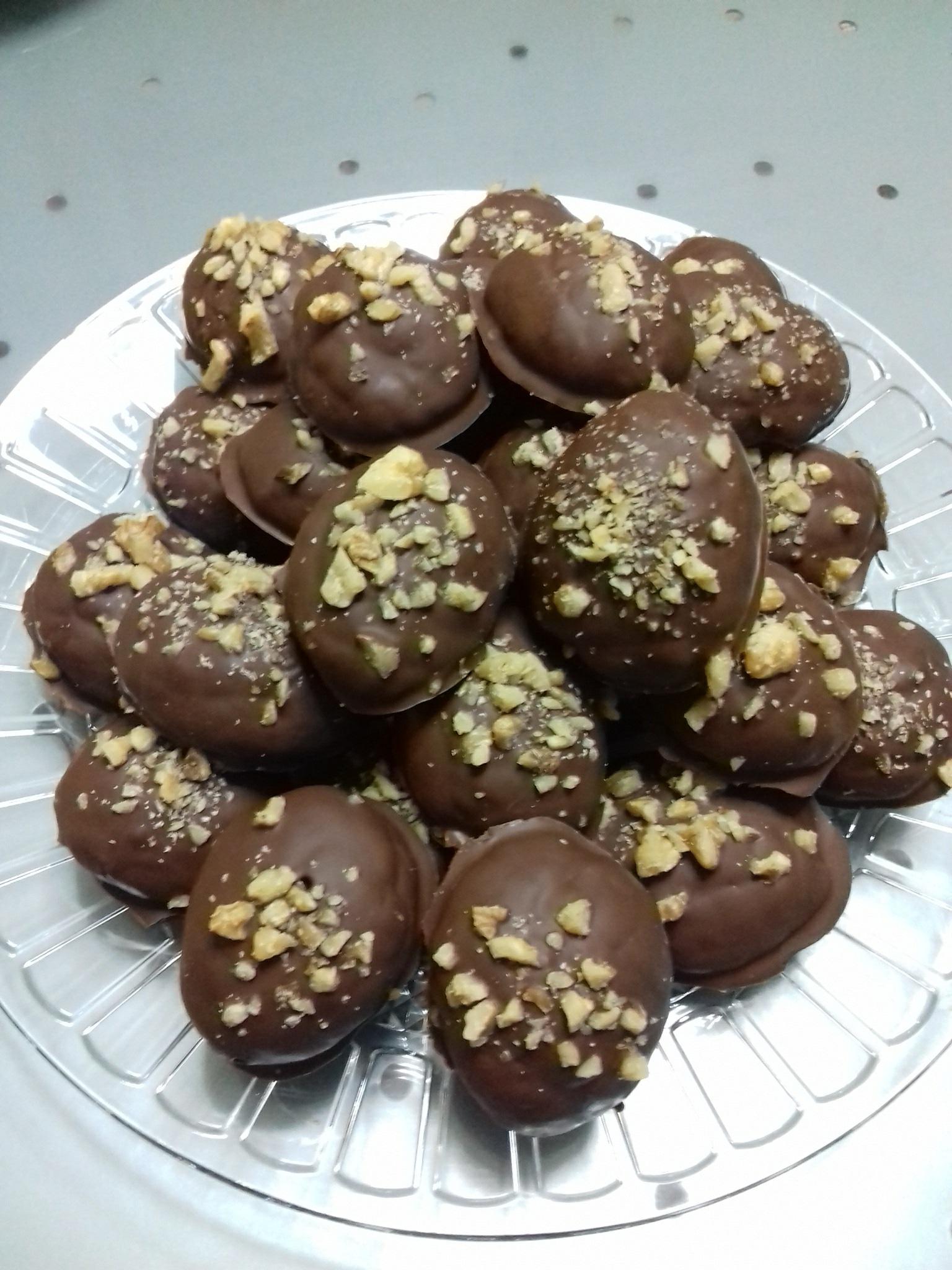 Σοκολατένια μελομακάρονα : Συνταγή για μελομακάρονα με σοκολάτα