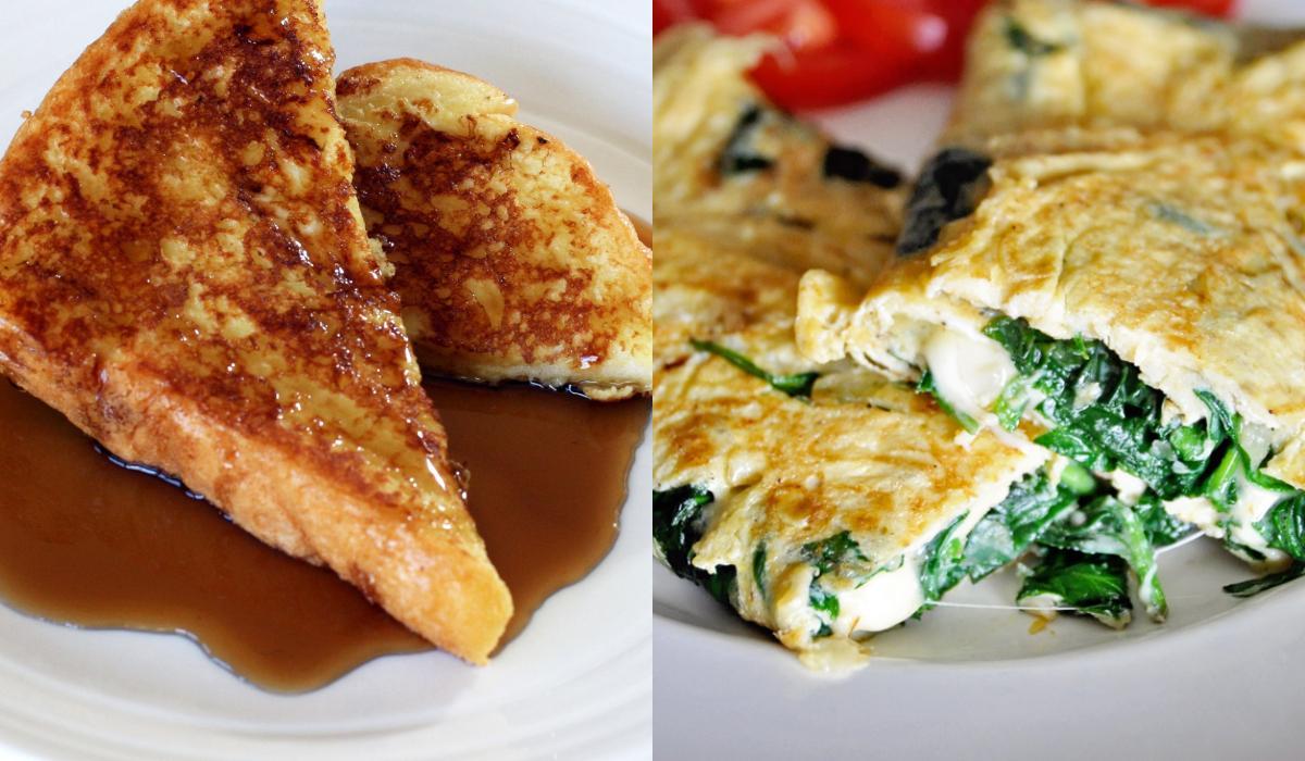 Διατροφή καταπολέμησης λίπους: Ιδέες για πρωινό με 300 Θερμίδες. γεύματα με 300 θερμίδες