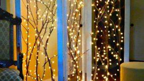 Απίστευτες χριστουγεννιάτικες διακοσμήσεις με φωτάκια part 2