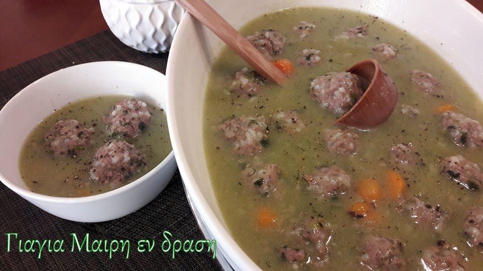 Συνταγή για παιδιά:Γιουβαρλάκια με σπανάκι