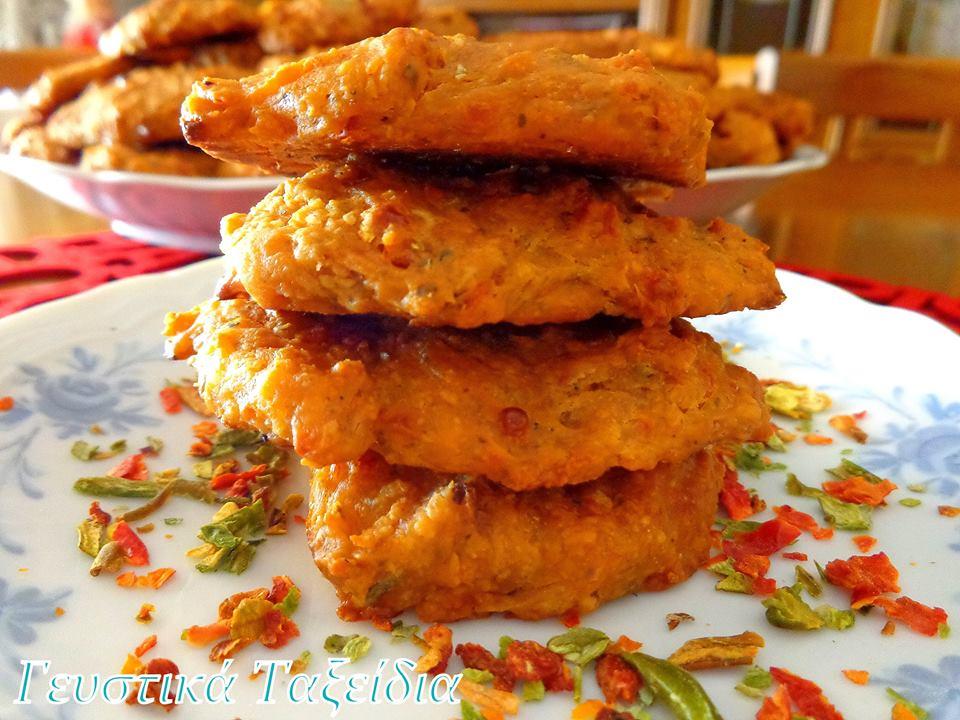 Σχολικό σνακ:Ζυμαροπιτάκια φούρνου με βρώμη