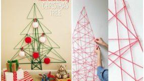 15 χριστουγεννιάτικα δέντρα που μπορείτε να φτιάξετε σε χρόνο μηδέν