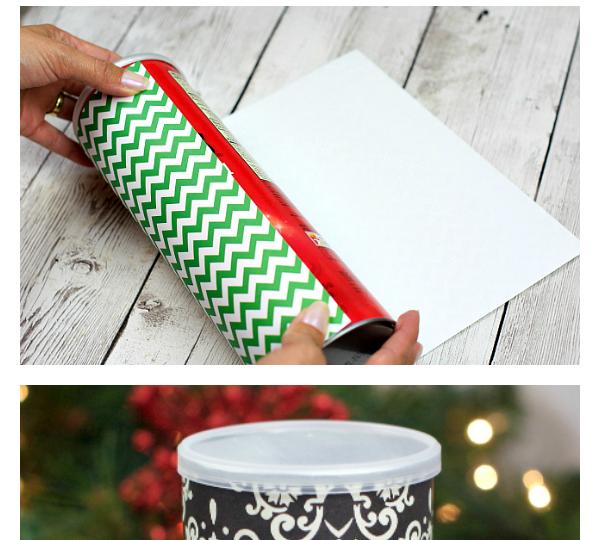Παίρνει κουτιά από πατατάκια και φτιάχνει υπέροχα χριστουγεννιάτικα κουτιά μπισκότων!