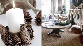 20 υπέροχες χριστουγεννιάτικες ρουστίκ διακοσμήσεις part2