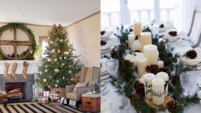 20 υπέροχες ιδέες για ρουστίκ χριστουγεννιάτικες διακοσμήσεις part 1