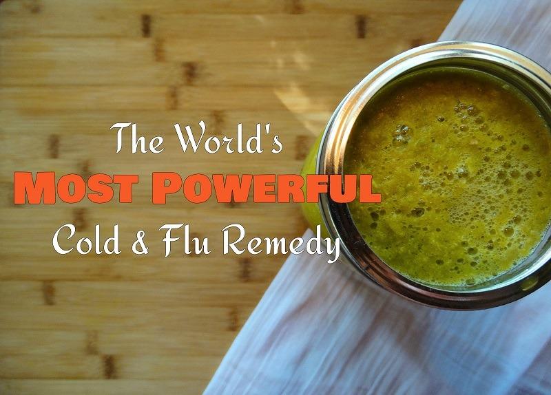 Ξεχάστε το σιρόπι για τη γρίπη.... Αυτή είναι η ισχυρότερη θεραπεία σε όλο το κόσμο