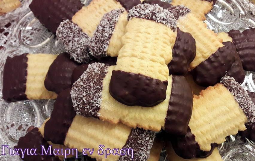 Μπισκότα βουτύρου εύκολα