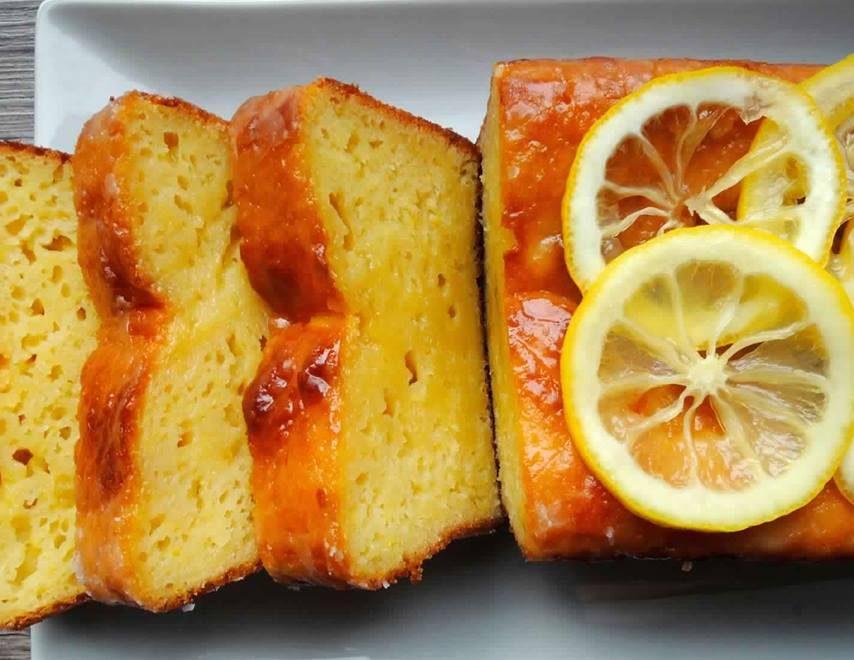 Κέικ λεμονιoύ γεμιστό ,η σκέτο ,είναι απόλαυση !!
