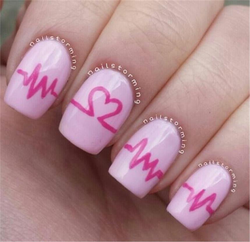 Υπέροχες ιδέες για να κάνετε τα νύχια σας την ημέρα του Αγίου Βαλεντίνου που θα σας κλέψουν την καρδιά