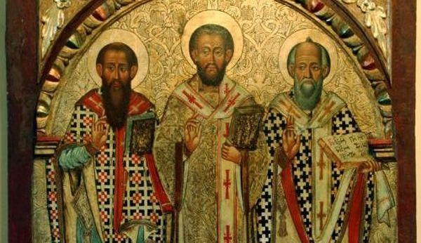 30 Ιανουαρίου: Η Εορτή των Αγίων Τριών Ιεραρχών- Προστάτες των Γραμμάτων και των μαθητών