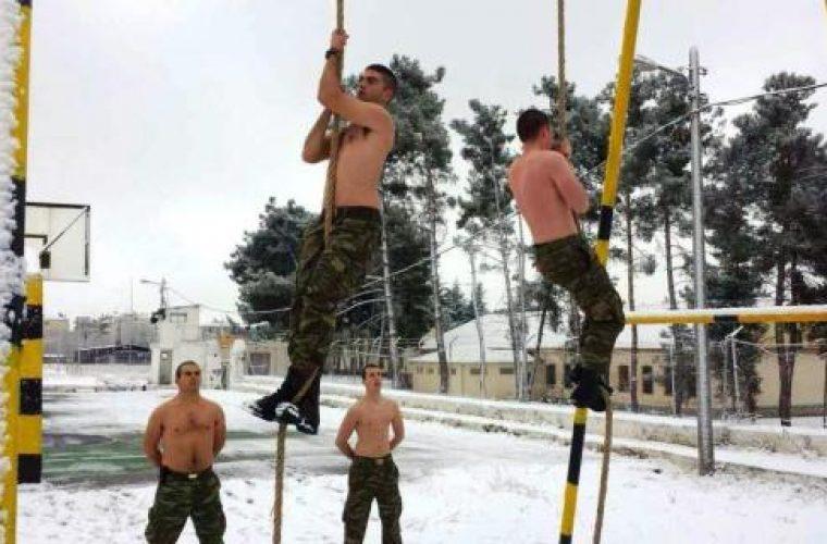 Έλληνες καταδρομείς: Και με χιόνια και με κρύα!