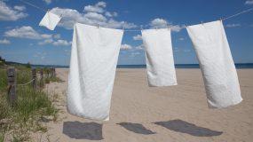Κάντε τις πετσέτες σας πιο λευκές από ποτέ με φυσικούς τρόπους