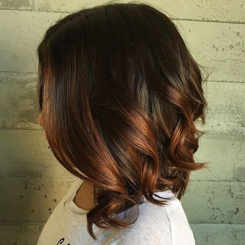 Φανταστικές ιδέες για ombre σε μαύρα μαλλιά!