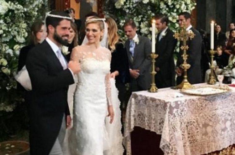 Σαν παραμύθι: O θρησκευτικός γάμος της Mαριάννας Γουλανδρή και του  Φίλιππου Λαιμού παρουσία γαλαζοαίματων!