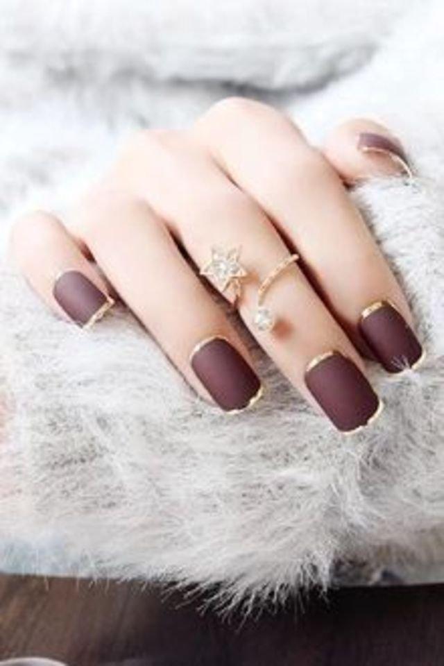 25 ιδέες για νύχια κόκκινα Βουργουνδίας που θα σας ξετρελάνουν!