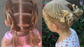 Υπέροχες ιδέες για χτενίσματα με πλεξούδες για τις μικρές σας πριγκίπισσες
