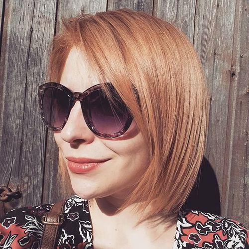 20 μοντέρνα χτενίσματα για κοντά ξανθά μαλλιά!