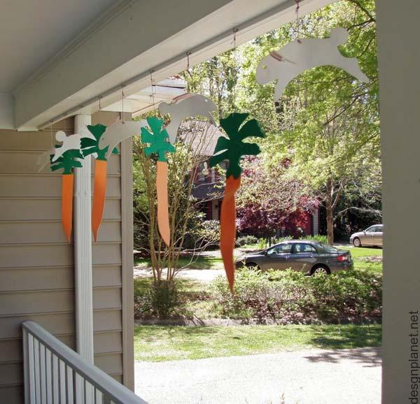 35 απίστευτες ιδέες πασχαλινής διακόσμησης του εξωτερικού σας χώρου!