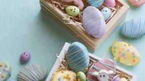 Μικρά αυγά κεκάκια βανίλιας!