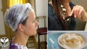 Mε αυτό το απλό συστατικό θα επανορθώσετε τη ζημιά των κατεστραμμένων μαλλιών σας
