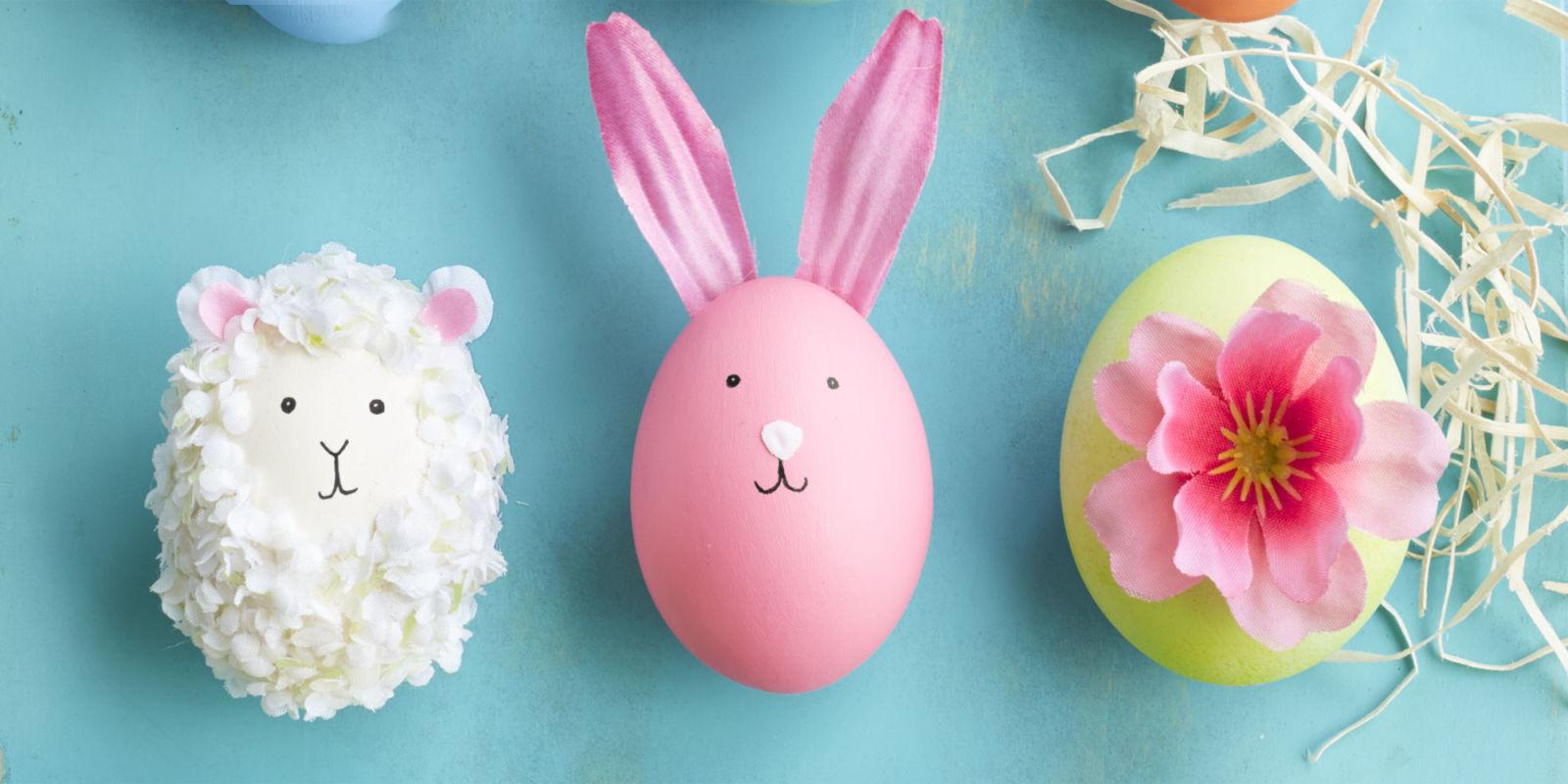 Πως να φτιάξετε χαριτωμένα πασχαλινά αυγά αρνάκια και άλλες απίστευτες ιδέες;