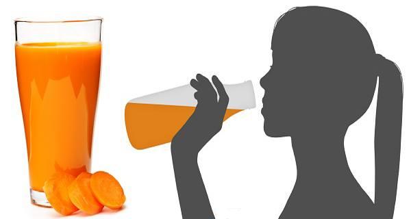 Αυτή η γυναίκα έπινε ένα ποτήρι χυμό καρότου κάθε μέρα. Το τι συνέβει στη συνέχεια θα σας σοκάρει!